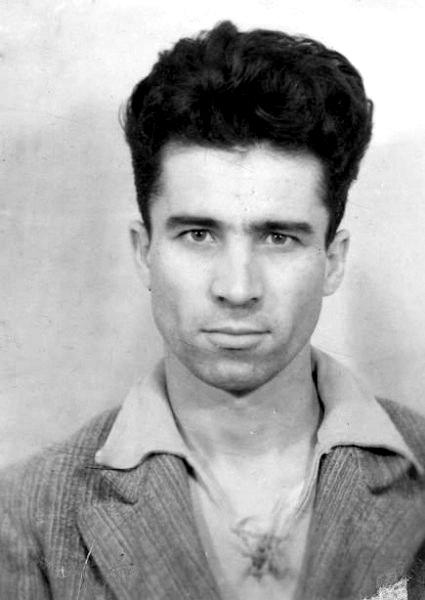 Gheorghe Calciu - fotografie la prima arestare