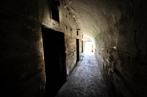 Coridorul Casimcăi din Fortul 13 Jilava