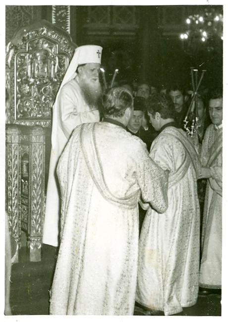 Hirotonia întru preot a lui Gheorghe Calciu